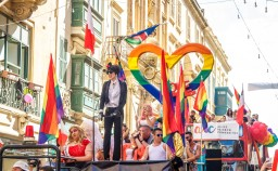 Pictures from the Malta Pride March