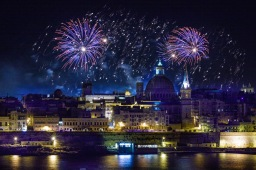 Malta International Fireworks Festival 2017