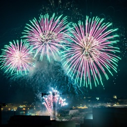 Fireworks and Malta (Pictures)